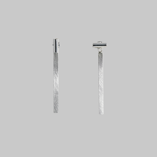 2way stick earring